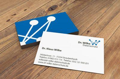 Klaus-Wilke-Visitenkarte